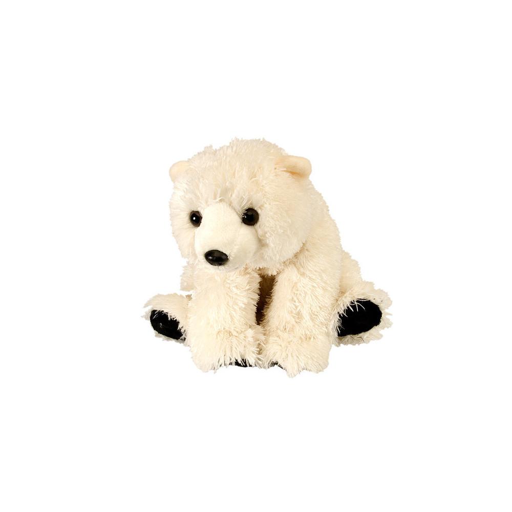 Peluche Bébé Ours polaire 30 cm, Winwin