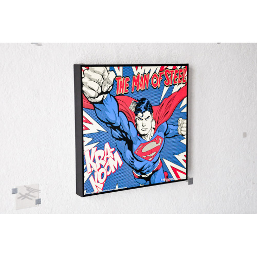 Tableau Man of Steel Superman