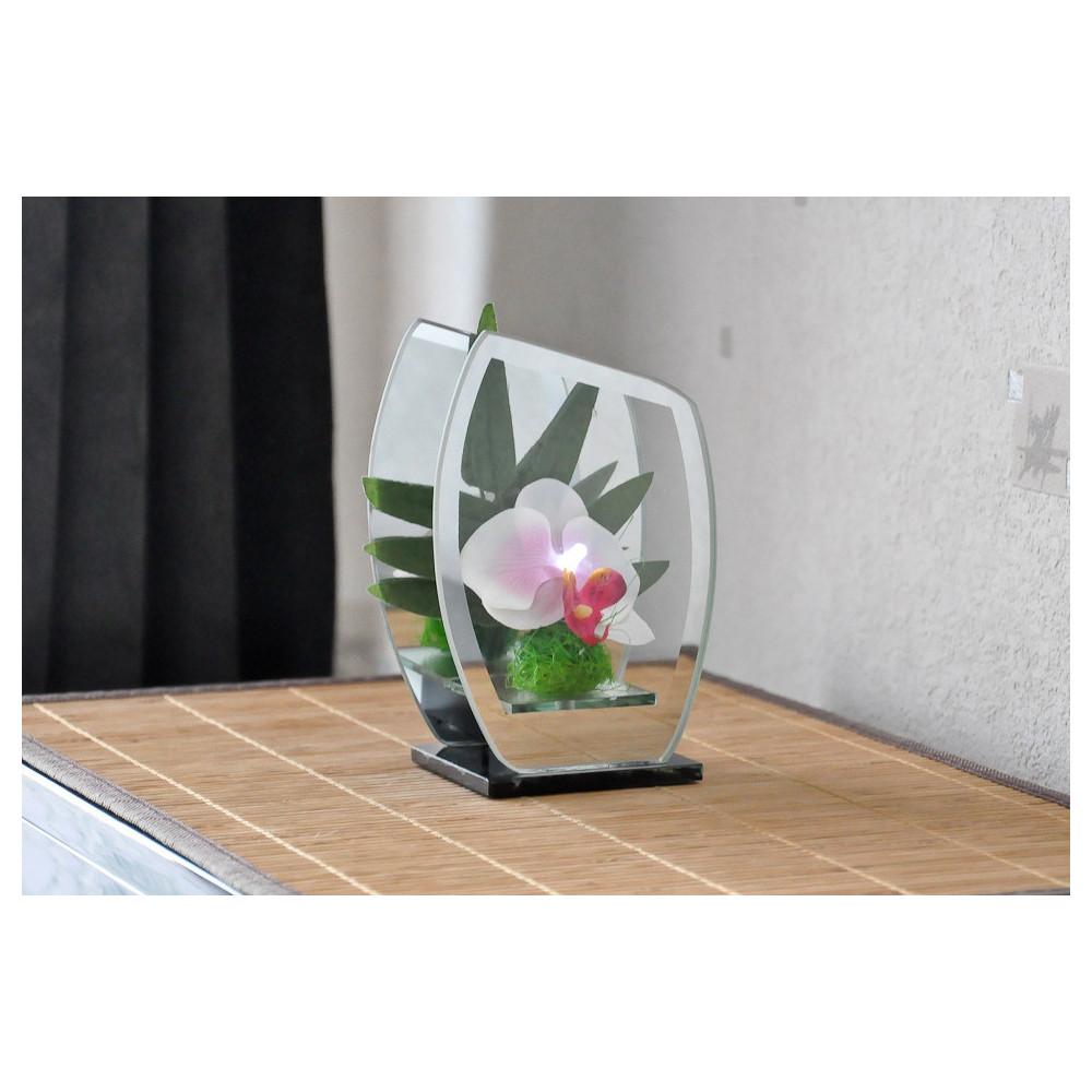 Déco orchidées à LED