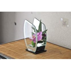 Déco en verre Orchidées