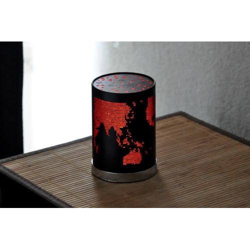 petite veilleuse lampe noir
