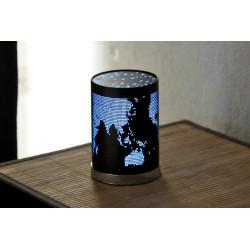 petite lampe veilleuse noir