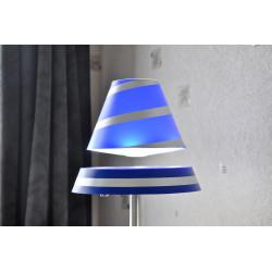 lampe en lévitation bleue