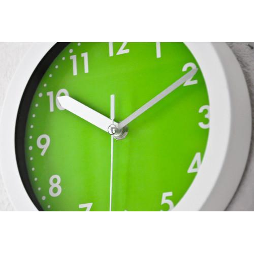 pendule blanche et verte