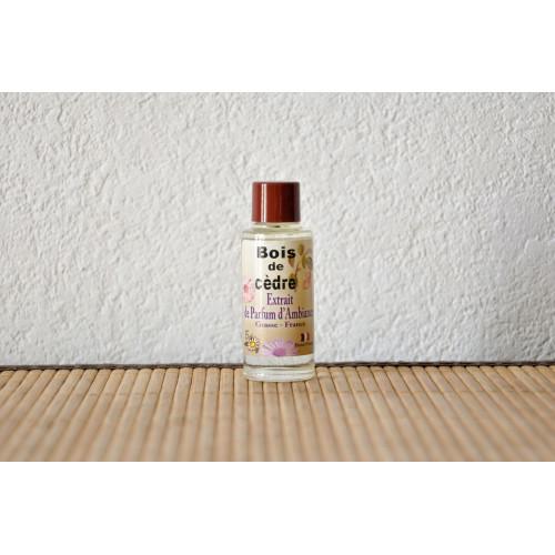Extrait de parfum senteur Bois de Cèdre