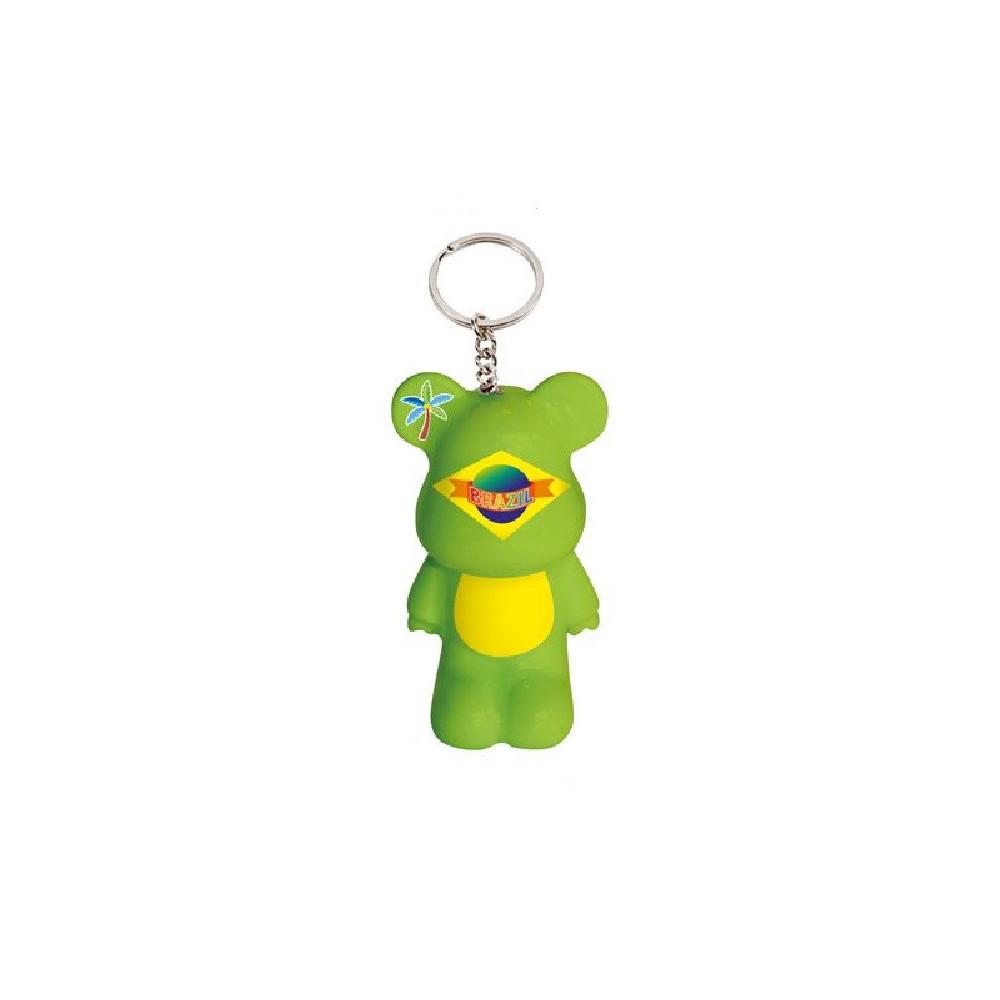 Porte-clés Funky Bear Fiesta du Brésil