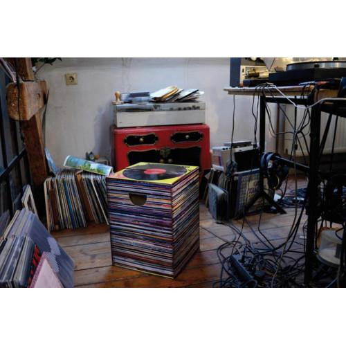 Tabouret Vinyles en carton Music Express - Remember