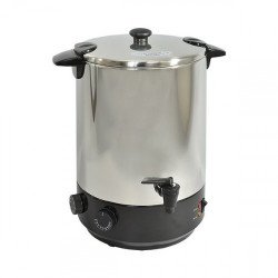 Stérilisateur 12 L.inox thermostaté et robinet de vidange