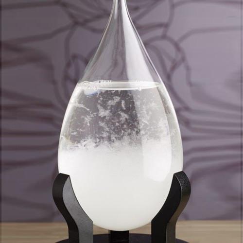 Baromètre de cristaux design goutte