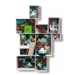 Étagères murales customisables multicolores - Celeste
