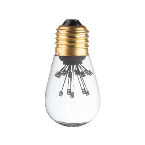 LAMPE DECO T45 E27 BLANC CHAUD ETEINTE