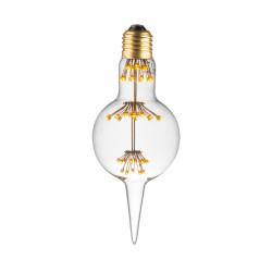 LAMPE DECO HL80 E27 BLANC CHAUD ALLUMEE