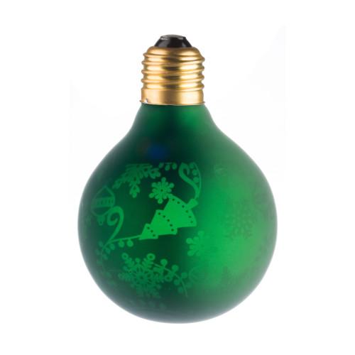 LAMPE DECO G80 E27 VERT ET SAPIN ETEINTE