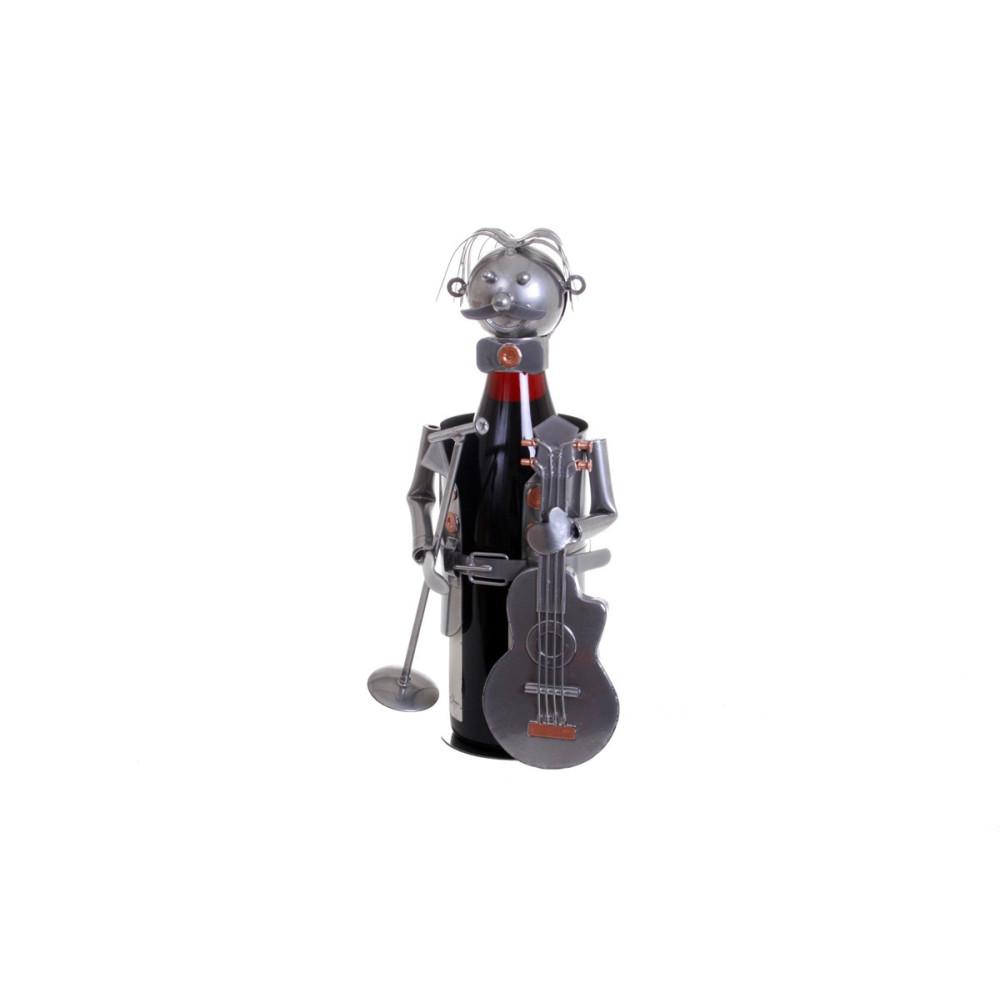 porte-bouteille musicien guitariste