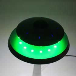 Enceinte en lévitation UFOSOUND Gris sur pied Gris