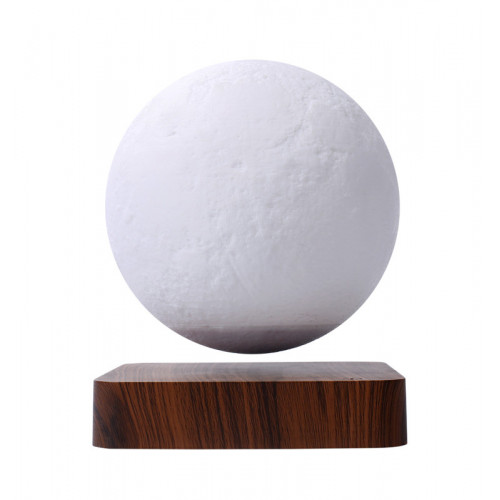 MOONFLIGHT- Globe lunaire  bicolore en lévitation