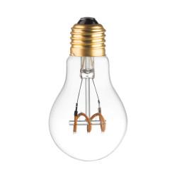 AMPOULE LAMPE  LED FILAMENT SPIRALE 3W E27 ETEINTE